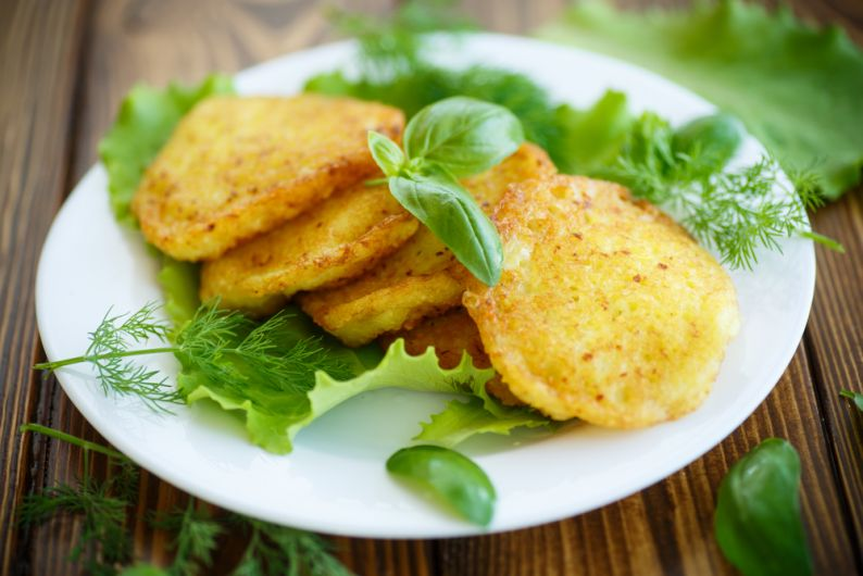 Air-Fried Potato Pancakes
