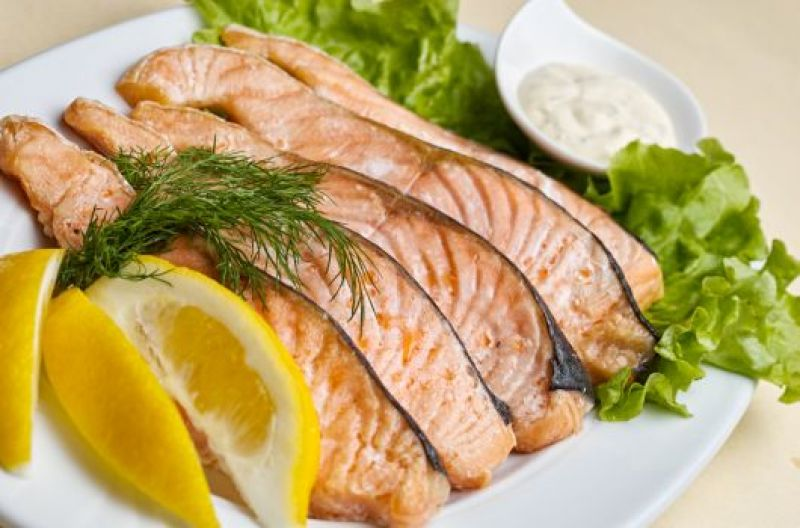 Cumin Spiced Salmon with Dill