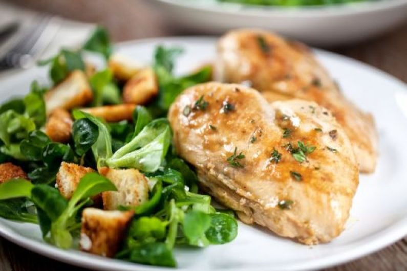 Roasted Chicken Breast with Herbs