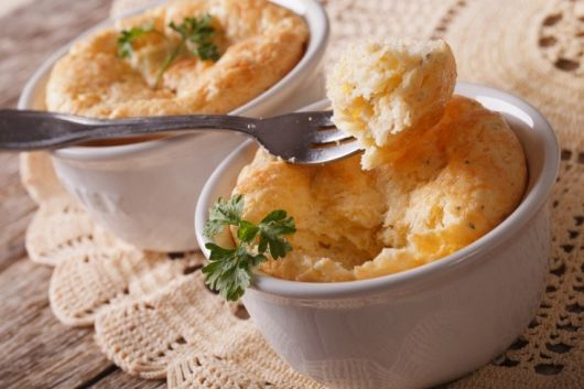 Air-Fried Cheese Souffle