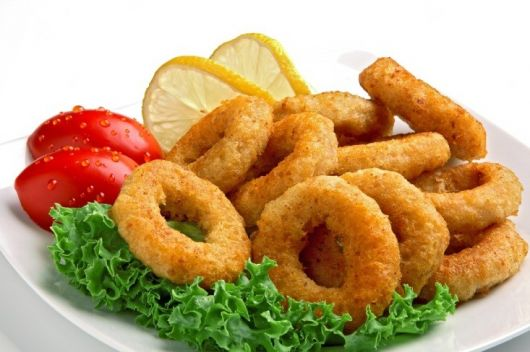 Air-Fried Squid Rings
