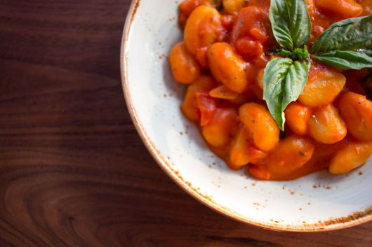 Air Fryer Gnocchi with Tomato Sauce