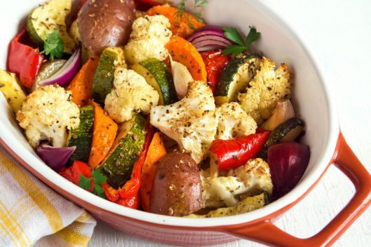 Air-Fryer Roasted Veggies