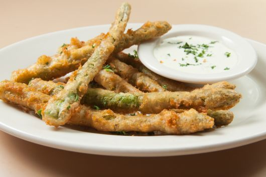 Air-Fried Asparagus Fries