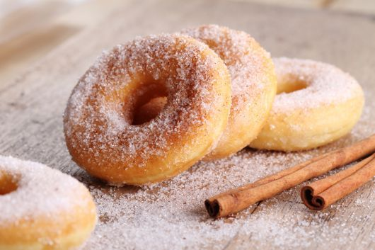 Air-Fried Cinnamon and Sugar Donuts