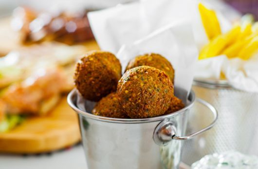 Air-Fried Falafel Balls
