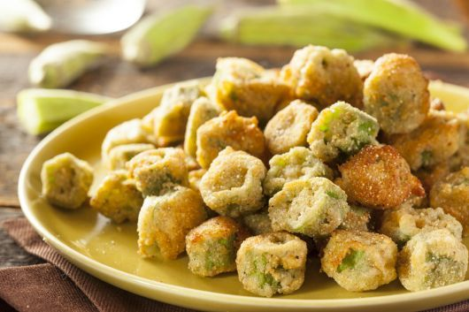 Air-Fried Fried Okra