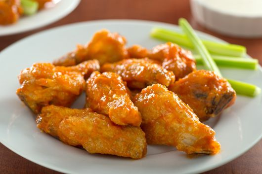 Air-Fried Honey-Sriracha Wings