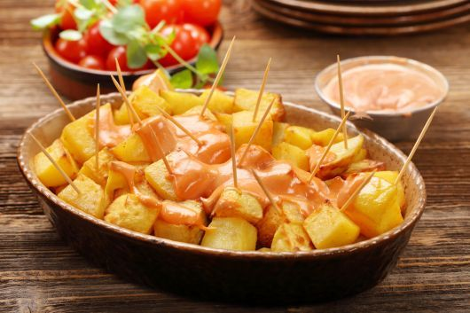 Air-Fried Patatas Bravas