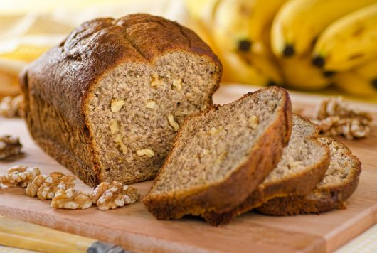 Banana Loaf with Walnuts