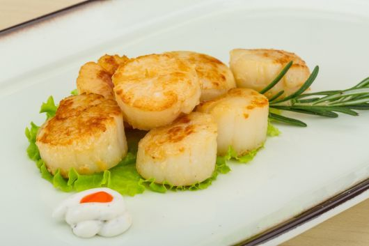 Buttered Scallops with Paprika