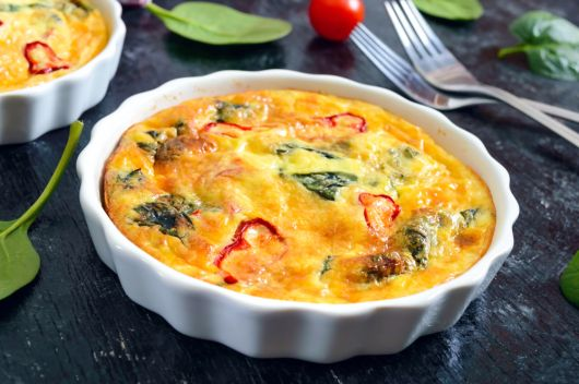 Easy Vegetarian Frittata