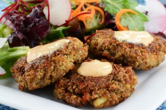 Fish and Lentil Burger Patties