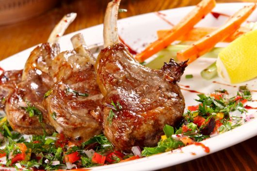 Grilled Chipotle Lamb Chops