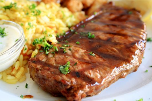 Grilled Chipotle Steaks