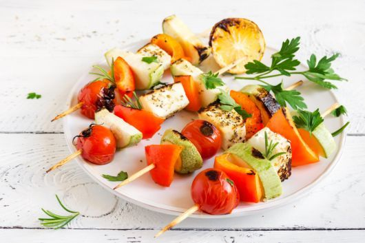 Grilled Vegetarian Skewers