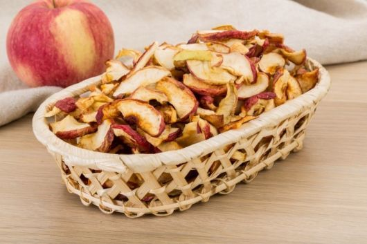 Healthy Air Fryer Apple Chips
