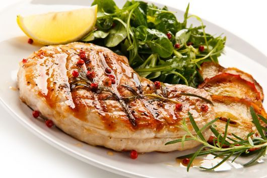 Honey-Butter Grilled Chicken Fillet