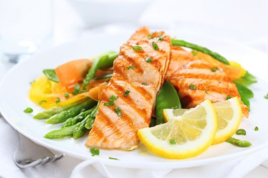 Lemon Butter Grilled Salmon