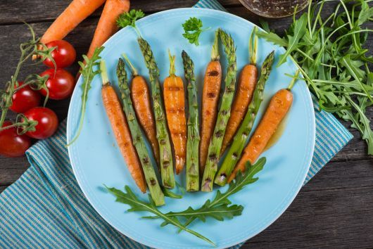 Marinated Asparagus and Carrots