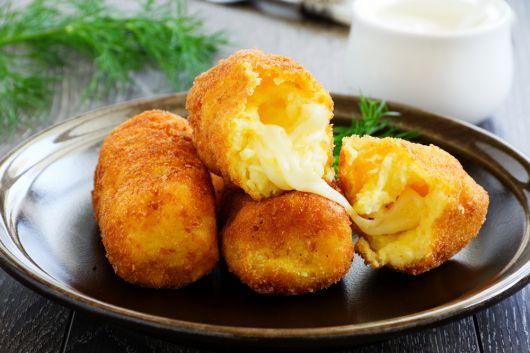 Potato and Cheese Bombs