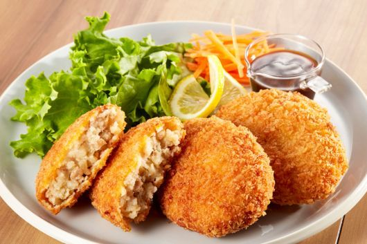 Potato and Chicken Croquettes