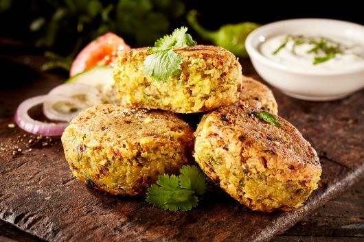 Quinoa and Zucchini Patties