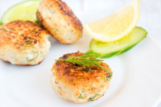 Salmon and Cottage Cheese Bites