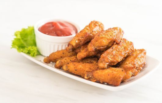 Spicy Honey Butter Wings