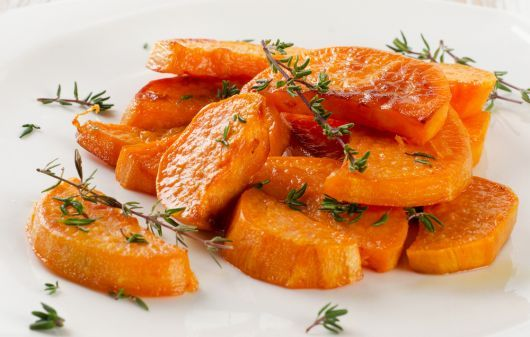 Sweet Potato Wedges with Thyme