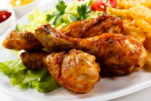 Sweet and Spicy Chicken Drumstick