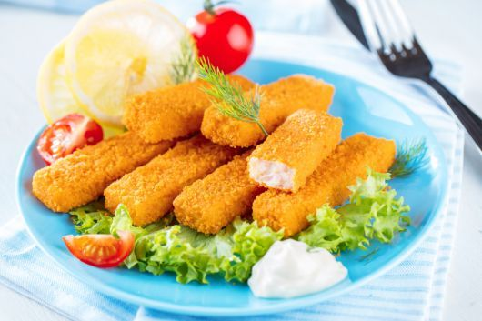 Tartar Sauce-Battered Fish Sticks in the Air Fryer