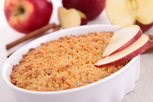 Warm Apple Crumble
